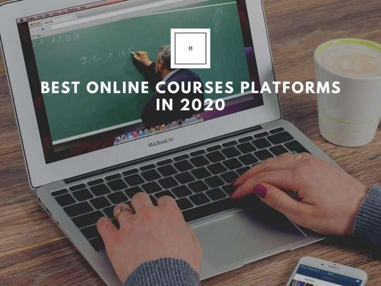Best online courses platforms 2020 Image